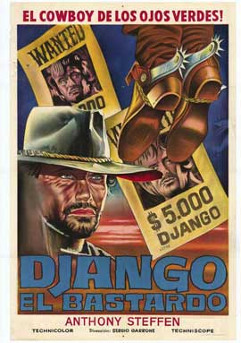 Django the Bastard - 27 x 40 Movie Poster - Spanish Style A