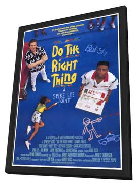 Do the Right Thing - 27 x 40 Movie Poster - Style A - in Deluxe Wood Frame