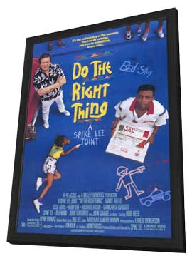 Do the Right Thing - 11 x 17 Movie Poster - Style A - in Deluxe Wood Frame