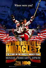 Do You Believe in Miracles? The Story of the 1980 U.S. Hockey Team - 27 x 40 Movie Poster - Style A