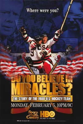 Do You Believe in Miracles? The Story of the 1980 U.S. Hockey Team - 11 x 17 Movie Poster - Style A
