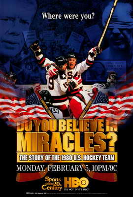 Do You Believe in Miracles? The Story of the 1980 U.S. Hockey Team - 27 x 40 Movie Poster