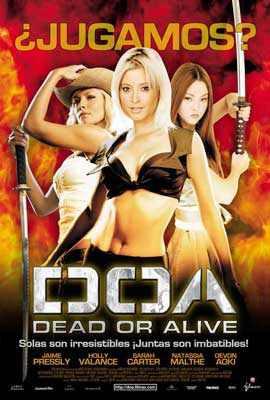 DOA: Dead or Alive - 27 x 40 Movie Poster - Spanish Style A