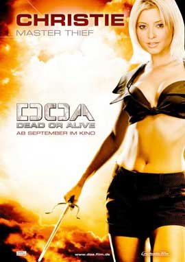 DOA: Dead or Alive - 11 x 17 Movie Poster - German Style B