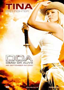 DOA: Dead or Alive - 11 x 17 Movie Poster - German Style D