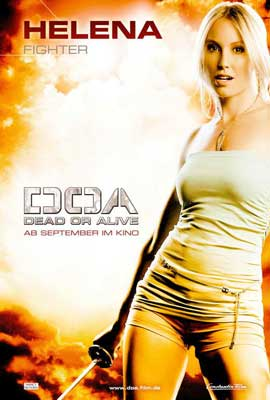 DOA: Dead or Alive - 27 x 40 Movie Poster - German Style F