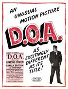 D.O.A. - 11 x 17 Movie Poster - Style D