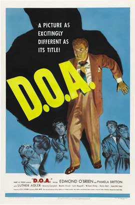 D.O.A. - 11 x 17 Movie Poster - Style A