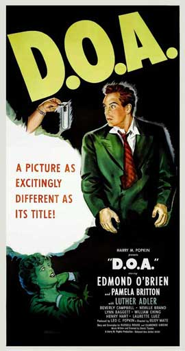 D.O.A. - 14 x 36 Movie Poster - Insert Style A