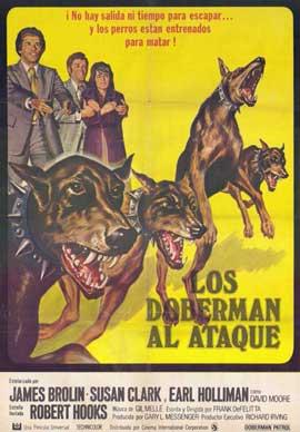 Doberman Patrol - 11 x 17 Movie Poster - Spanish Style A