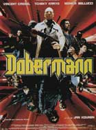 Dobermann - 11 x 17 Movie Poster - French Style A