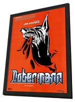 Dobermann - 27 x 40 Movie Poster - Spanish Style A - in Deluxe Wood Frame