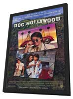 Doc Hollywood - 11 x 17 Movie Poster - Style A - in Deluxe Wood Frame