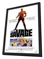 Doc Savage - 27 x 40 Movie Poster - Style A - in Deluxe Wood Frame