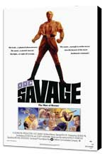 Doc Savage - 27 x 40 Movie Poster - Style A - Museum Wrapped Canvas