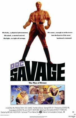Doc Savage - 11 x 17 Movie Poster - Style A