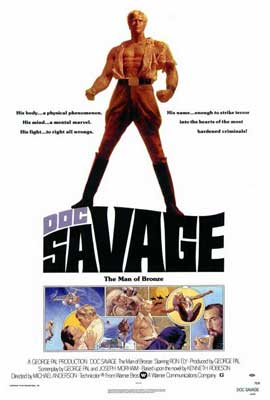 Doc Savage - 27 x 40 Movie Poster