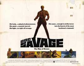 Doc Savage - 22 x 28 Movie Poster - Half Sheet Style A