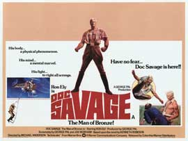 Doc Savage - 30 x 40 Movie Poster UK - Style A