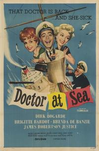 Doctor at Sea - 11 x 17 Movie Poster - Style A