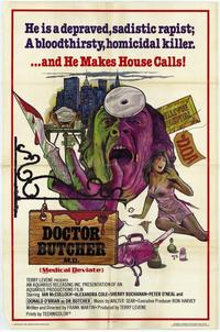 Doctor Butcher, M.D. - 43 x 62 Movie Poster - Bus Shelter Style A