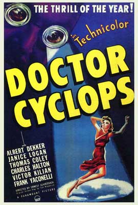 Doctor Cyclops - 27 x 40 Movie Poster - Style A