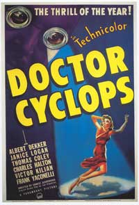 Doctor Cyclops - 43 x 62 Movie Poster - Bus Shelter Style A