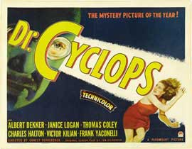 Doctor Cyclops - 27 x 40 Movie Poster - Style B