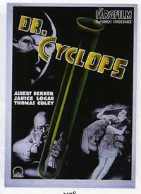Doctor Cyclops - 11 x 17 Movie Poster - Swedish Style A