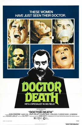 Doctor Death: Seeker of Souls - 27 x 40 Movie Poster - Style A