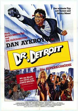 Doctor Detroit - 11 x 17 Movie Poster - German Style A