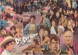 Doctor Detroit - 27 x 40 Movie Poster - German Style A