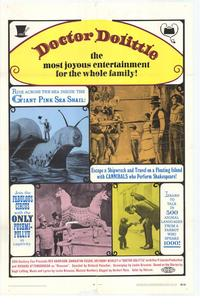 Doctor Dolittle - 11 x 17 Movie Poster - Style A