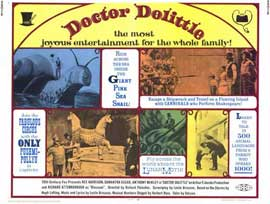 Doctor Dolittle - 11 x 14 Movie Poster - Style C
