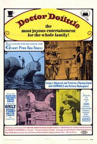 Doctor Dolittle - 27 x 40 Movie Poster - Style A