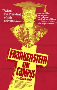 Doctor Frankenstein on Campus - 11 x 17 Movie Poster - Style A