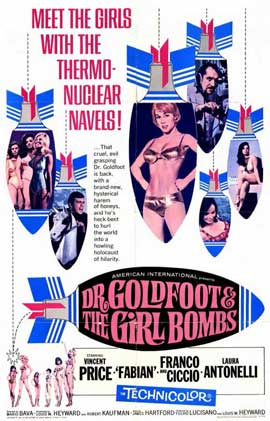 Doctor Goldfoot and the Girl Bombs - 11 x 17 Movie Poster - Style A