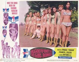 Doctor Goldfoot and the Girl Bombs - 11 x 14 Movie Poster - Style G