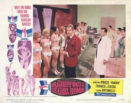 Doctor Goldfoot and the Girl Bombs - 11 x 14 Movie Poster - Style H