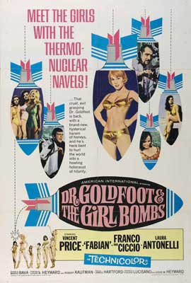 Doctor Goldfoot and the Girl Bombs - 27 x 40 Movie Poster - Style A