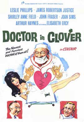Doctor In Clover - 11 x 17 Movie Poster - Style A