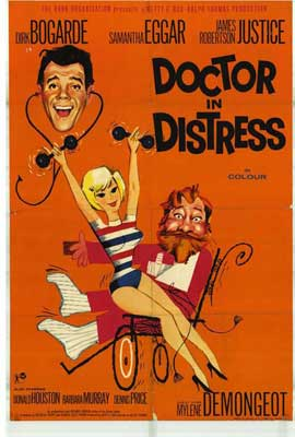 Doctor in Distress - 27 x 40 Movie Poster - Style A