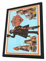 Doctor Who - 27 x 40 TV Poster - Style A - in Deluxe Wood Frame