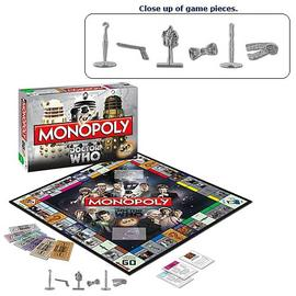 Doctor Who - Collector's Edition Monopoly Board Game