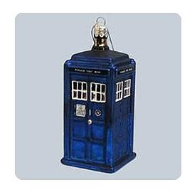 Doctor Who - 4 1/4-Inch TARDIS Figural Ornament