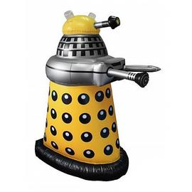 Doctor Who - Small Inflatable Yellow Dalek