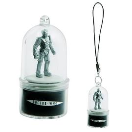 Doctor Who - Cyberman Rotating Cell Phone Charm