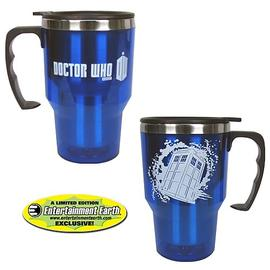 Doctor Who - EE Exclusive TARDIS 14 oz. Travel Mug