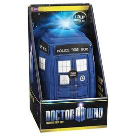 Doctor Who - Medium Talking TARDIS Light Up Plush