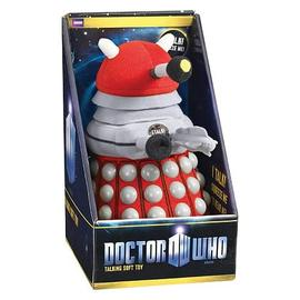 Doctor Who - Medium Talking Red Dalek Plush